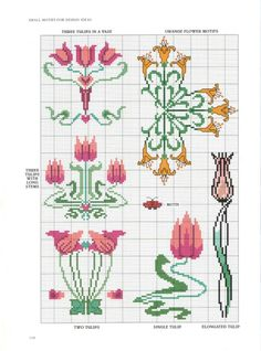 Gallery.ru / Фото #94 - Art Nouveau Cross Stitch - CrossStich