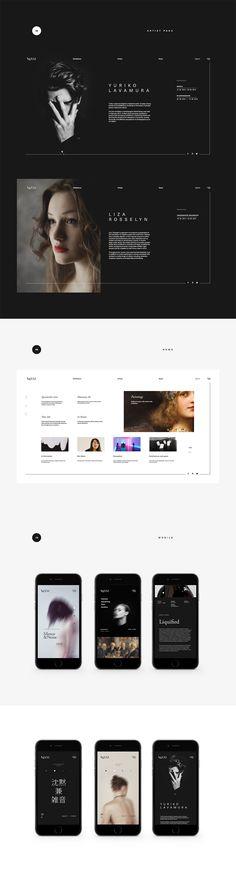 AgXXI | Website #4 #web #design #art #gallery #UI #iteractions