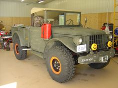 Dodge power wagon m37 1950
