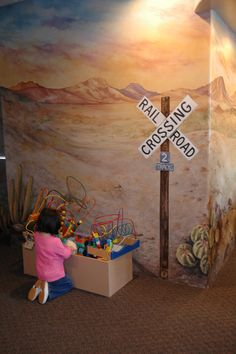 Pediatric Dental office done by Carmen Illustrates. Gilbert, Arizona
