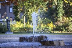 A vanished brook is now flowing through Kerkrade's City Park again -