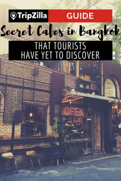 Presenting: the insider scoop on quaint little cafes in Bangkok you need to add to your to-go list. We bet your friends haven't been to any of these!