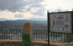 """#Málaga - #Archidona - Mirador del Castillo - 37º 5' 56"""" -4º 23' 6"""" / 37.098889, -4.385000  El territorio de Archidona se extiende por el tercio oriental de la comarca de Antequera entre campos de olivar y dehesas, en las que los bosquetes y ejemplares suelos de encinas comparten el paisaje con campos de cereal. Pero Archidona, aunque muestra orgullosa su sierra, esconde celosamente algunas de las maravillas con las que la ha dotado la naturaleza."""