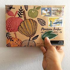 Snail-mail x Yayoi . . #yayoikusama #polkadots #pumpkin #happymail #snailmail #snailmailart #snailmaillove #snailmailrevolution #letter #letterart #letterlove #draw #handdrawn #handpainted #doodle #write #writemoreletters #sendmylove #sendmoremail #handwritten #handwrittenwordsarethebest #postal #stamp #envelopeart #handmade #stationery #friendsacrosstheworld #penpals