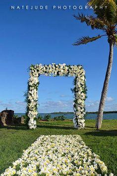 Wedding Scenery   Four Seasons Resort, Mauritius