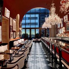We visit Baccarat's new crystal palace: a stunning hotel and residential building in the heart of Manhattan