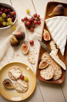 figs and brie