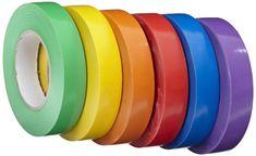 School Specialty Vinyl Gym Tape School Pack - 1 inch x 60...