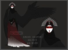 Haroth auction: Keeper of the Graves [Closed] by Aivomata on DeviantArt
