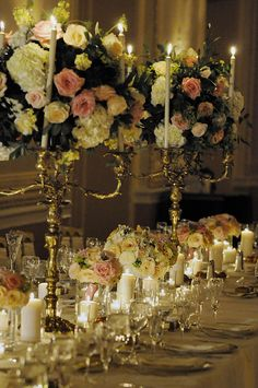 love the candelabras!