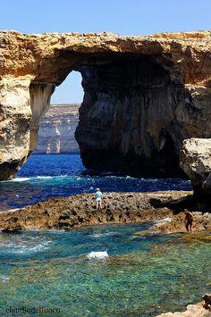 Gozo: It-Tiega Tad-Dwejra (The window of Dwejra)