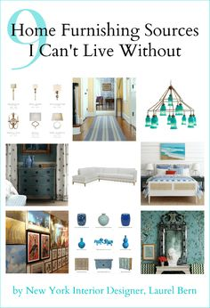 9 Favorite Home Furnishings Sources I Can't Live Without - laurel home