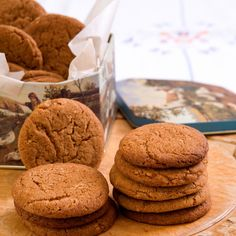 Gingernuts Recipe | How to Make Gingernuts | Baking Mad
