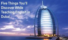 Thinking of TEFLing in the Middle East? Check out this article featuring all you need to know about making the most of your adventure in Dubai: http://www.onlinetefl.com/tefl-blog/2013/09/06/5-things-youll-discover-about-teaching-english-abroad-in-dubai/?source=SocialMedia_Pinterest__09092013_Image___