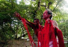 Peter Cramer e Jack Waters Spaghetti Wrestling expanded cinema performance | Report Campania