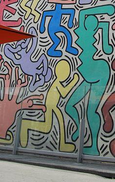 Tuttomondo: il murales di Keith Haring a Pisa - #pisa #TRAVELSTALES
