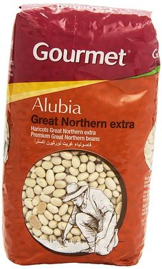2,70€ - Gourmet - Alubia Great Northern extra - 1 kg - - - 100gr proteina 22,00