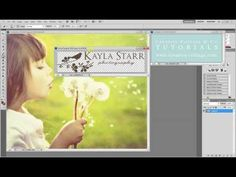 How to make a watermark brush in Photoshop CS5