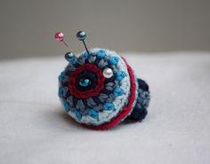 crocheted pincushion ring