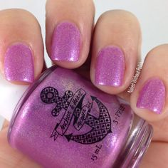 Anchor and Heart Lacquer Why Not Me? @tarynjshaw