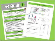 DEFI : ateliers de résolution de situation-problème Math 5, Fun Math, Teaching Math, School Organisation, Cycle 3, Teaching French, School Hacks, Best Teacher, Problem Solving