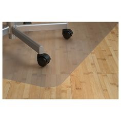 IKEA - KOLON, Floor protector, Protects flooring against wear and dirt. Suitable for most types of floors and flat-woven rugs. Not suitable for cork floors or heated wooden floors. Soft Flooring, Types Of Flooring, Flooring Options, Wooden Flooring, Vinyl Flooring, Ikea Office, Home Office Chairs, Office Furniture, Office Home