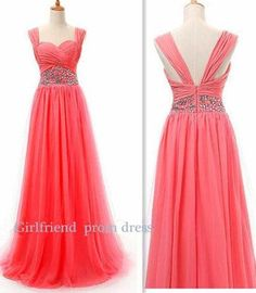 Cool Quinceanera Dresses Amazing watermelon red chiffon handmade floor-length beaded halter prom dress, g... Check more at http://24store.tk/fashion/quinceanera-dresses-amazing-watermelon-red-chiffon-handmade-floor-length-beaded-halter-prom-dress-g/