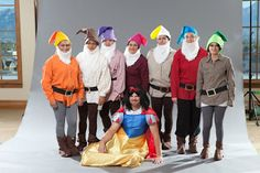 home made 7 dwarfs costumes for adults