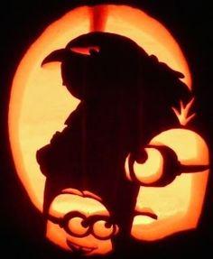 despicable me pumpkin carving - Google Search    minions & gru