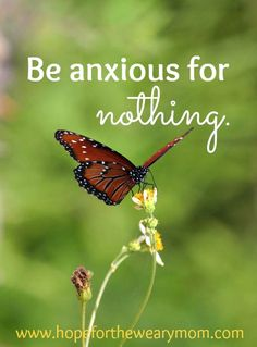 """Do Not Be Anxious 