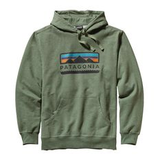 All schlepped out from the trek to basecamp? Recoup with the cozy Patagonia Men's Tres Peaks Midweight Hooded Pullover Sweatshirt made with Fair Trade Certified cotton!  #FairTrade #organic #apparel