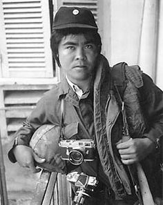 Huỳnh Công Út, known professionally as Nick Ut, (born Mar 29, 1951) is a photographer for the Associated Press (AP) who works out of Los Angeles. His best known photo is the Pulitzer Prize-winning picture of Phan Thị Kim Phúc, who was photographed as a naked 9-year-old girl running toward the camera to flee a South Vietnamese napalm attack on the Trảng Bàng village during the Vietnam War.