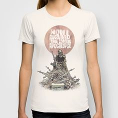 How I Survived The Zombie Apocalypse T-shirt