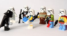 Own Clothes Day by Maximus_W, via Flickr Lego Stormtroopers Vader Star Wars