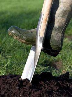 Good soil preparation for a successful garden.