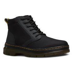 Dr. Martens Unisex Bonny Chukka Fashion Boots, Black Nylon, 9 M UK M10/W11 M US