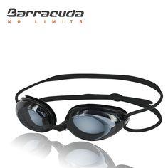 Barracuda Dr.B Optical Swim Goggle OPTICAL – Hydrodynamic Profile Frame Silicone Seals, Prescription Corrective, Anti-fog UV Protection No -leak Comfortable Racing for Adults Men Women #2195