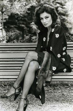 anouk aimee helmut newton - Google Search