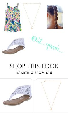 """""""Untitled #472"""" by julie-201 ❤ liked on Polyvore featuring Lilly Pulitzer and Sachi"""