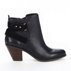 Sole Society - Round toe booties - Idelle