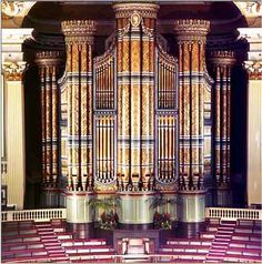 Mander/Willis/Hill organ, Birmingham Town Hall, England