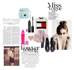 Miss. by andyvapink on Polyvore featuring polyvore, fashion, style, Tommy Hilfiger, Olympia Le-Tan, Michael Kors, Bobbi Brown Cosmetics, MAC Cosmetics, Nicole and clothing