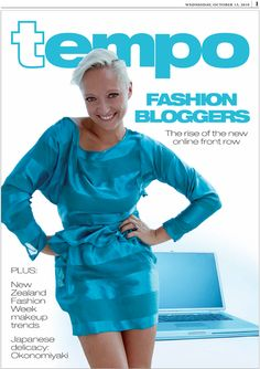 New Zealand - Tempo Magazine Cover & feature, Casie Stewart