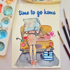 Time to go home İnstagram: rana_atelier