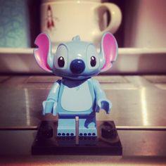 Yay! We got Stitch  #lego #minifigures #stitch #disney #liloandstitch #legostagram #legolove #luckydip #yay #wegotit #nevertoooldtoplaywithlego #ohana #toddlerfun #happyout by fifi_frayne