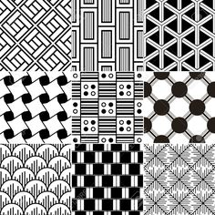 Monochrome Seamless Geometric Pattern Royalty Free Cliparts, Vectors, And Stock Illustration. Doodle Designs, Doodle Patterns, Zentangle Patterns, Zentangle Drawings, Ink Pen Drawings, Zentangles, Easy Zentangle, Textile Pattern Design, Pattern Art