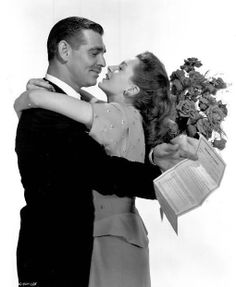 "Clark Gable and Deborah Kerr ""The Hucksters"" 1947"
