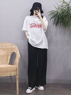 Korean Girl Fashion, Korean Fashion Trends, Korean Street Fashion, Ulzzang Fashion, Korea Fashion, Ulzzang Style, Kpop Fashion Outfits, Tomboy Fashion, Streetwear Fashion