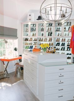 Follow these expert tips to transform a dark closet into a bright, functional, organized space | archdigest.com