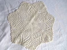 Lovely Crocheted Vintage Doiley by jclairep on Etsy, $6.00